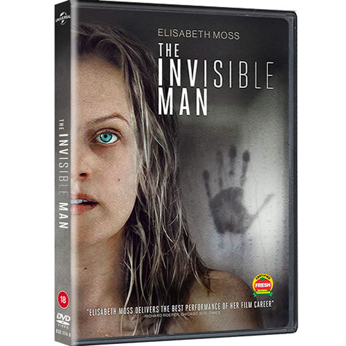 The Invisible Man (2020) on DVD For Sale