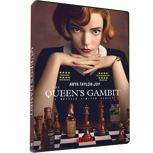 The Queen's Gambit on DVD For Sale