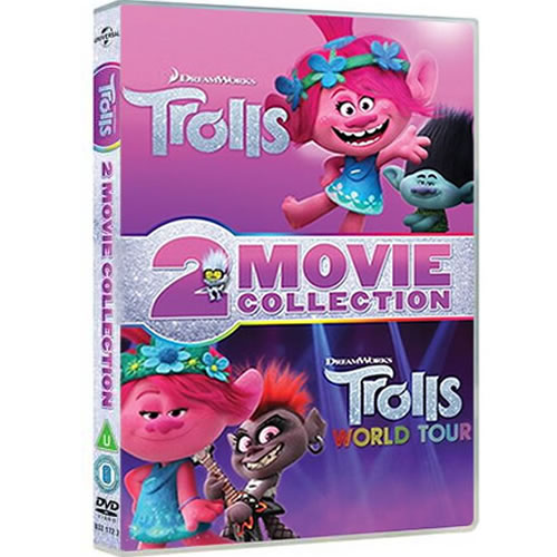 Trolls 2-Movie Collection on DVD For Sale