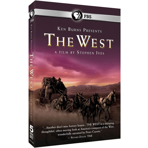Ken Burns Presents - The West A Film by Stephen Ives on DVD For Sale