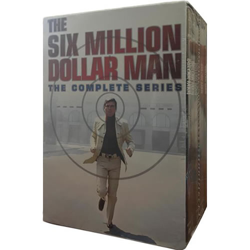 The Six Million Dollar Man - Complete Series DVD For Sale