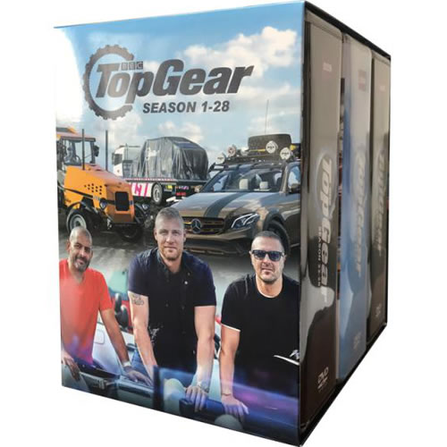 Top Gear: Complete Series 1-28 DVD For Sale
