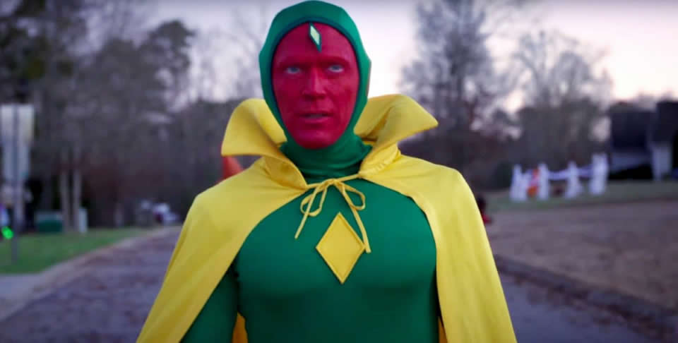 Paul Bettany returns as the android Vision