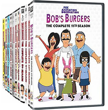 Bob's Burgers: Complete Series 1-11 DVD For Sale