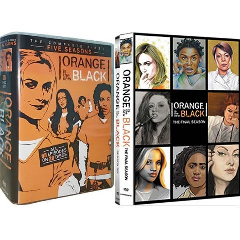 Orange Is The New Black: Complete Series 1-7 DVD For Sale