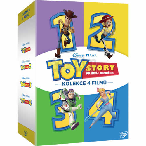 Toy Story: Complete Series 1-4 DVD For Sale