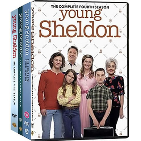 Young Sheldon: Complete Series 1-4 DVD For Sale
