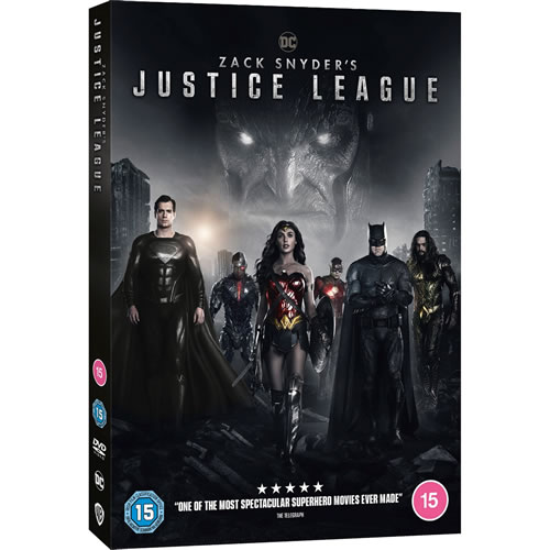 Zack Snyder's Justice League on DVD For Sale