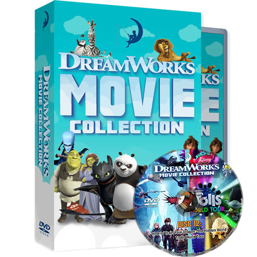 DreamWorks 24 Movie Collection on DVD For Sale