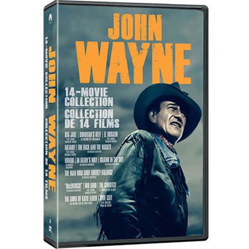 John Wayne Essential 14-Movie Collection on DVD For Sale