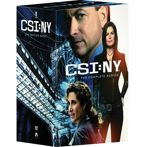 CSI: NY - Complete Series DVD For Sale