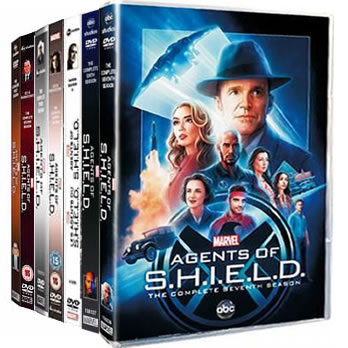 Agents of SHIELD: Complete Series 1-7 DVD For Sale