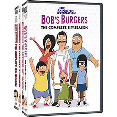 Bob's Burgers: Complete Series 8-11 DVD For Sale