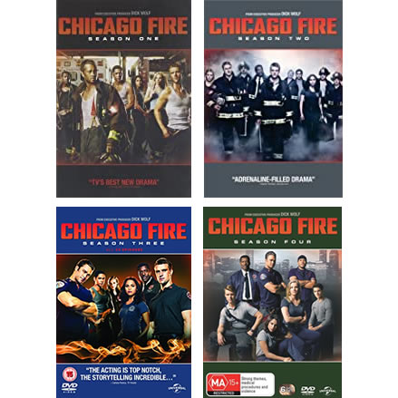 Chicago Fire: Complete Series 1-4 DVD For Sale