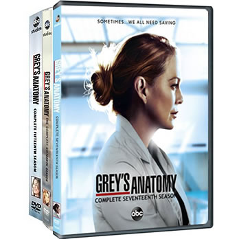 Grey's Anatomy: Complete Series 15-17 DVD For Sale