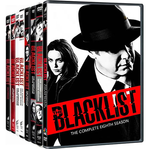 The Blacklist: Complete Series 1-8 DVD For Sale
