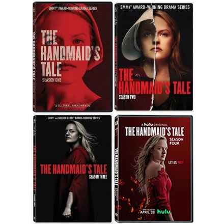 The Handmaid's Tale: Complete Series 1-4 DVD For Sale