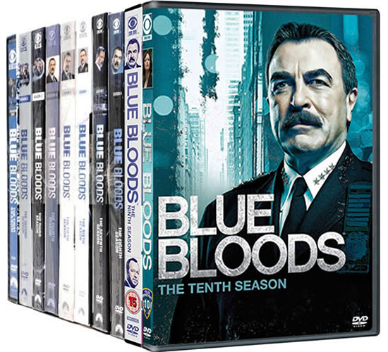 Blue Bloods: Complete Series 1-10 DVD For Sale