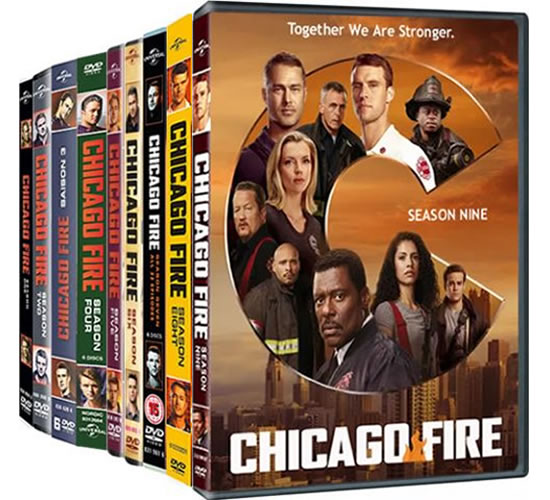 Chicago Fire: Complete Series 1-9 DVD For Sale
