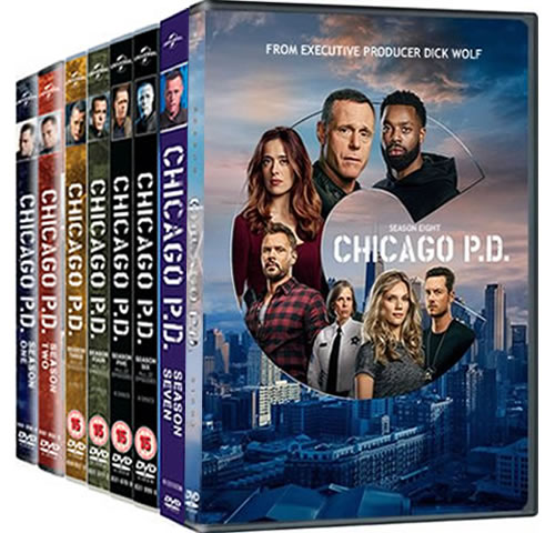 Chicago PD: Complete Series 1-8 DVD For Sale