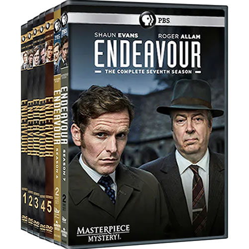Endeavour: Complete Series 1-7 DVD For Sale