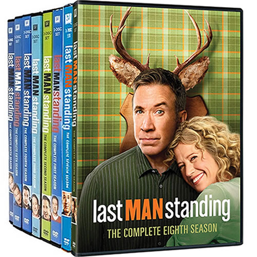 Last Man Standing: Complete Series 1-8 DVD For Sale