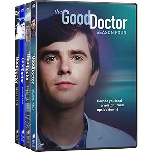 The Good Doctor: Complete Series 1-4 DVD For Sale