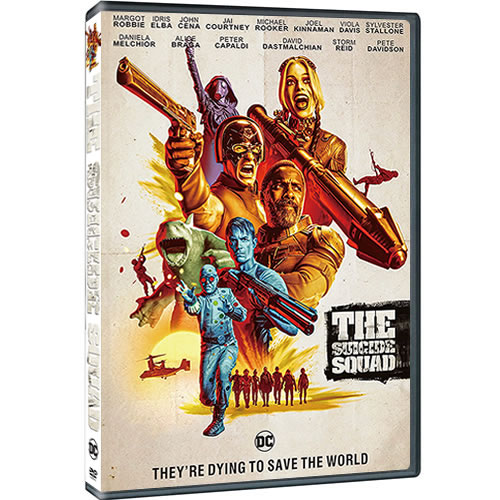 The Suicide Squad 2021 on DVD For Sale