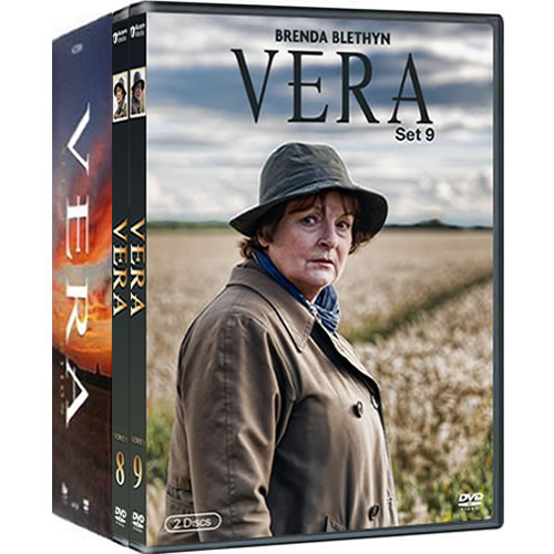 Vera: Complete Series 1-9 DVD For Sale