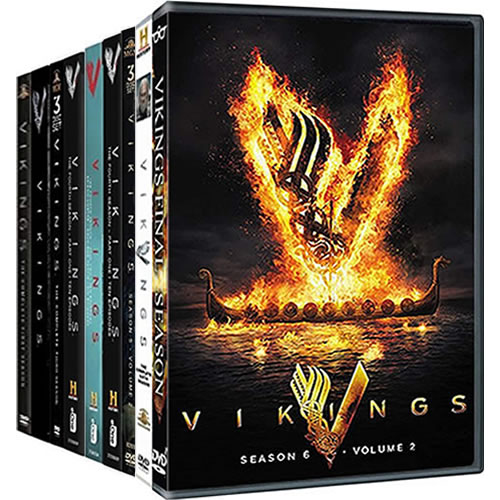 Vikings: Complete Series 1-6 DVD For Sale