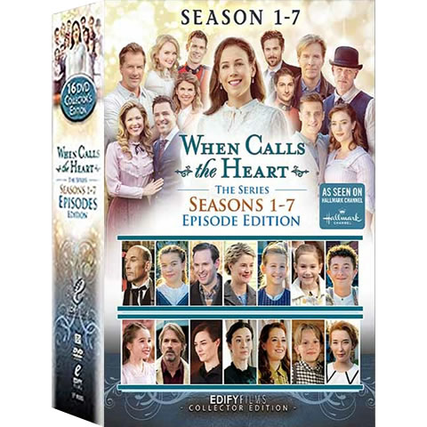 When Calls The Heart: Complete Series 1-7 DVD For Sale