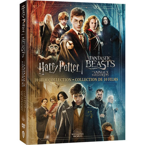 Wizarding World 10 Film Collection - Harry Potter & Fantastic Beasts on DVD For Sale